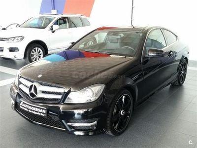 usado Mercedes C220 Clase CCdi Coupe 2p. -13