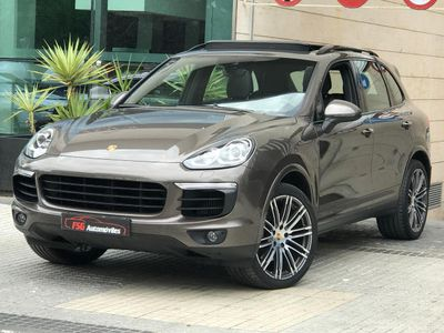 used Porsche Cayenne Diesel Aut. AÑO 2015- LIBRO REVISIONES -NUEVO