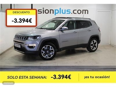 brugt Jeep Compass 1.6 Mjet 88kW Limited 4x2