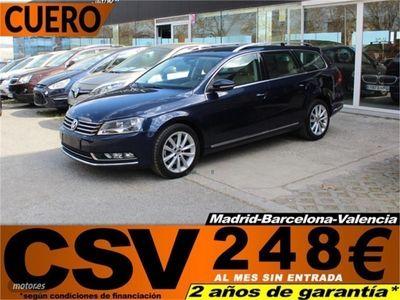usado VW Passat Variant TDi HIGHLINE **CUERO, 261€/MES**