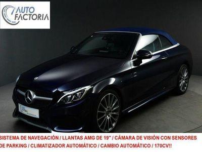 usado Mercedes C220 Cabrio d 9G-Tronic