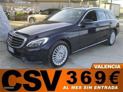 usado Mercedes C220 CDI ESTATE EXCLUSIVE 170CV (AUTO.) '369€/MES'