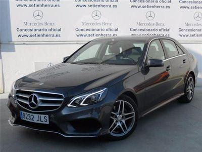 usado Mercedes E220 AMG 9G Tronic Automático