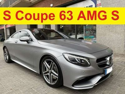 usado Mercedes S63 AMG Clase SAMG 4MATIC Coupe