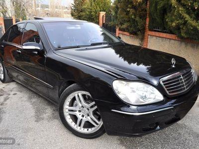usado Mercedes S400 ClaseCDI L DESIGNO PIEL NAVI BIXENON MEGAFULLL