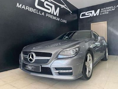 usado Mercedes SLK250 ClaseCDI BE 7G Plus