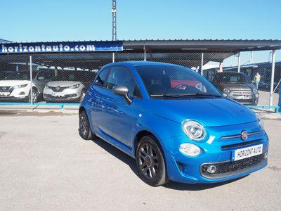 usado Fiat 500S Serie7 1.2 69cv Reestyling 69cv Azul metalizado