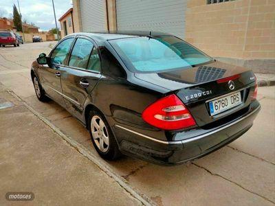 usado Mercedes E280 Clase ECDI 4MATIC Elegance