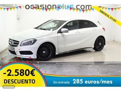 second-hand Mercedes A180 Clase ABlueEFFICIENCY AMG Line