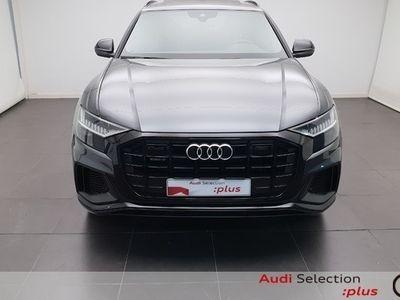 usado Audi Q8 Black line 50 TDI quattro 210 kW (286 CV) tiptronic Híbrido Electro/Diesel Gris matriculado el 01/2020