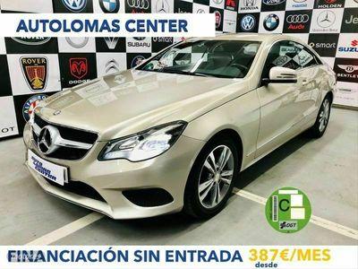 usado Mercedes E200 Clase E Coupe