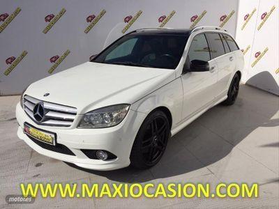 usado Mercedes C320 Clase CCDI 4MATIC Elegance Auto Familiar