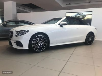 usado Mercedes 350 Clase E E Cabrio9G-Tronic