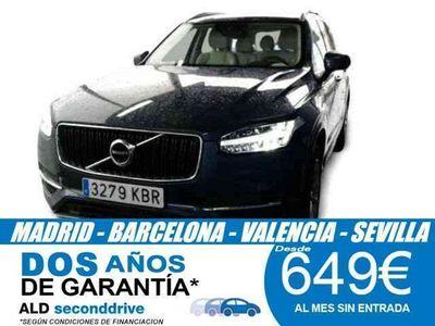 usado Volvo XC90 D5 Momentum 7pl. AWD 235 Aut.