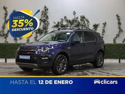 usado Land Rover Discovery Sport 2.0L TD4 180CV 4x4 SE