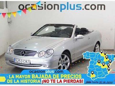 usado Mercedes CLK500 CLK ClaseCabrio Aut.