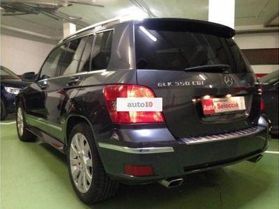 usado Mercedes 350 GLK CDI 4M 1 solo titular piel techo navi