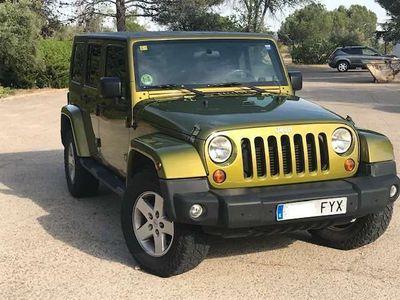 usado Jeep Wrangler Unlimited 2.8CRD Sahara AT