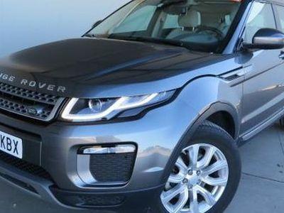 gebraucht Land Rover Range Rover evoque 2.0TD4 SE 4WD Aut. 150
