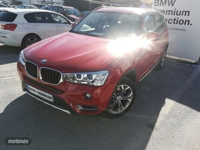 used BMW X3 xDrive 20dA