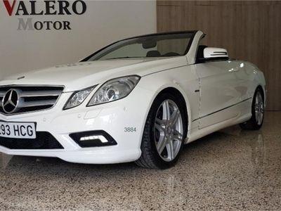 gebraucht Mercedes E220 Clase E CabrioCDI BE Avantgarde