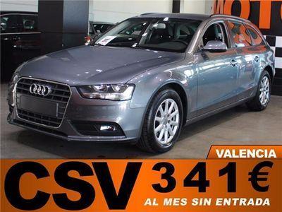 "usado Audi A4 2.0 TDI AVANT AUTOMÁTICO 150CV ""341€ AL MES"""