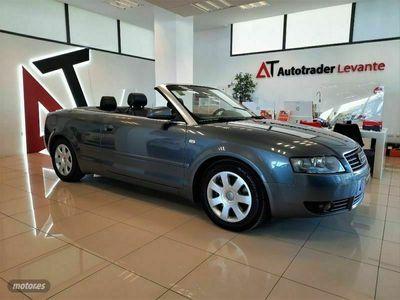usado Audi A4 Cabriolet 2.5 TDI multitronic