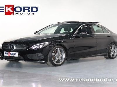 usado Mercedes C220 C 220d 9G-TRONIC PLUS AMG_TECHO 170CVSPORT-T