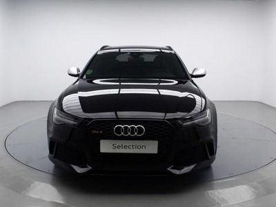 usado Audi RS6 Avant Performance 4.0 TFSI quattro 445 kW (605 CV) tiptronic Gasolina Negro matriculado el 04/2016