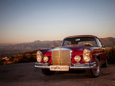used Mercedes 220 SE CABRIOLET (W111)