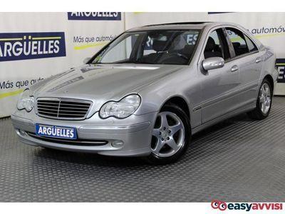 usado Mercedes 170 clase c cdi aut avantgardemuy equipado diesel