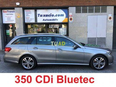usado Mercedes 350 Clase E EstateCDI BLUETEC - NACIONAL - COMO NUEVO - EQUIPADO - GARANTIA