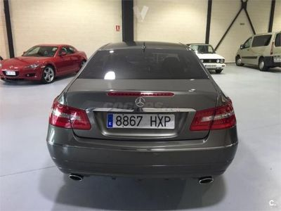 usado Mercedes E350 Clase E CoupeCdi Blue Efficiency Elegance 2p. -11