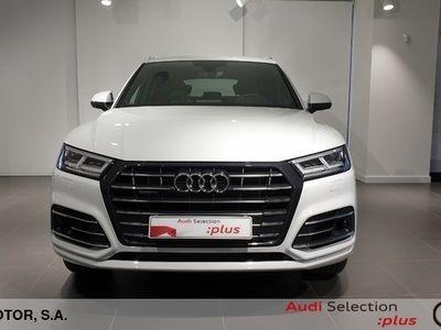 usado Audi Q5 S line 55 TFSI E quattro 270 kW (367 CV) S tronic Híbrido Electro/Gasolina Negro matriculado el 02/2020