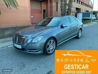 usado Mercedes E500 Clase E4MATIC Avantgarde