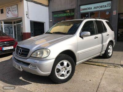 usado Mercedes ML270 Clase MCDI AUTO