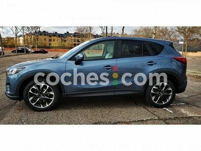 usado Mazda CX-5 Cx-52.2de Lux.+prem.blanco+travel+ts Awd Aut. 175 175 cv en Madrid