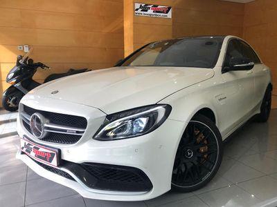 usado Mercedes C63 AMG AMG S 7G BUCKETS/FRENOS CERAMICOS 52.809€ + IVA
