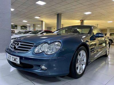 usado Mercedes SL500 RESTAURADO*AZUL COBALTO*PERFECTO ESTADO*