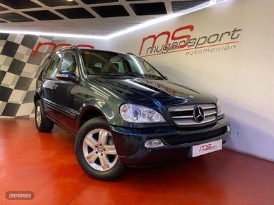 usado Mercedes ML270 CDI AUTO - CUERO BEIGE - 5.900€