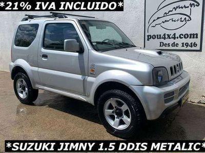 usado Suzuki Jimny 1.5DDiS JLX Techo Metálico