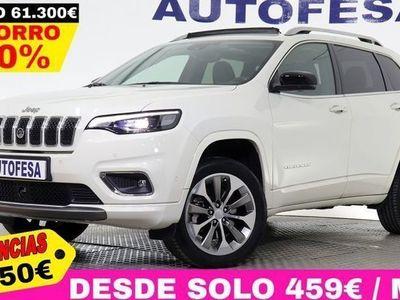 usado Jeep Cherokee 2.2 CRD 195cv Overland Auto 4WD 5P # GARANTIA FAB 12/2020,TECHO