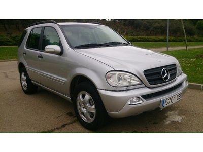usado Mercedes ML320 Clase mAut.