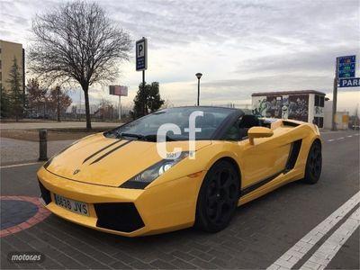 usado Lamborghini Gallardo Spyder 2p. -06