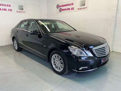 usado Mercedes E350 Clase ECDI Blue Efficiency Elegance