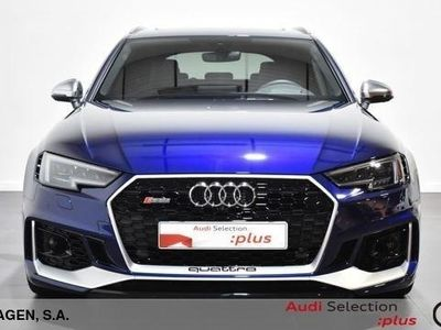 usado Audi RS4 Avant 2.9 TFSI quattro 331 kW (450 CV) tiptronic Gasolina Azul matriculado el 08/2019
