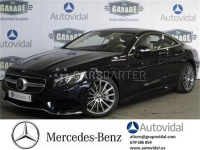 usado Mercedes S500 S 500Coupe 4MATIC 335 kW (455 CV) 2p