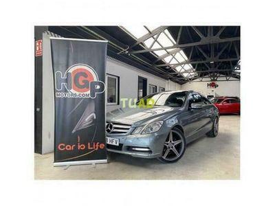 usado Mercedes E200 Clase E CoupeCGI BlueEfficiency (207.348)