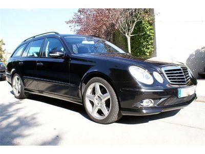 usado Mercedes E500 EEstate 500 4M Avantgarde AMG