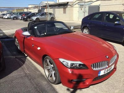 usado BMW Z4 sDrive35is Auto. - Red, Leather Kansas/Schwarz int